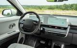 12 Hyundai Ioniq 5 2021 FD Norway plates dashboard