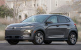 Hyundai Kona Electric 2018 first drive review static front