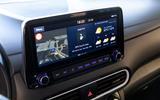 Hyundai Kona Hybrid 2019 first drive review - infotainment