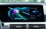 Hyundai Nexo 2019 first drive review fuel cell monitoring