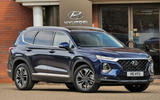 Hyundai Santa Fe 2018 UK first drive review - static front
