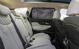12 Hyundai Santa fe 2021 UK first drive review rear seats