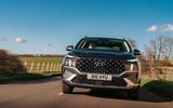 12 Hyundai Santa Fe PHEV 2021 UK FD on road nose