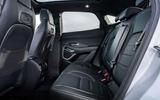 12 Jaguar E Pace P300e 2021 uk first drive review rear seats