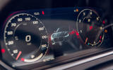 Jaguar F-Type 2020 UK first drive review - instruments