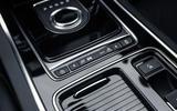 Jaguar XE 300 Sport 2018 UK first drive review centre console