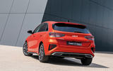 12 Kia Ceed GT Line 2021 facelift first drive static rear