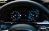 Kia Sorento hybrid 2020 UK first drive review - instruments