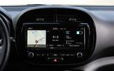 Kia Soul EV 2019 first drive review - infotainment