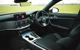 12 Kia Stinger GT S 2021 UK review cabin