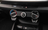 12 Kia Stonic 48v 2021 UK first drive review climate controls