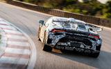 Lamborghini Huracan STO 2020 first drive review - track rear