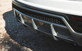 Lamborghini Urus 2018 UK first drive review rear diffuser