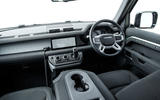 Land Rover Defender 110 S 2020 first drive review - dashboard