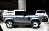 Land Rover Defender Hard Top - static side