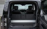 12 Land Rover Defender V8 2021 UK FD boot