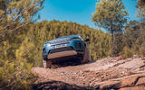 Land Rover Discovery Sport 2019 first drive review - offroad front