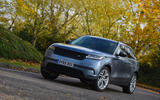 Land Rover Range Rover Velar 2019 UK first drive review - cornering front