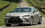 Lexus ES 300h 2018 review on the road front