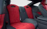 12 Lexus LC500 2021 UK FD rear seats