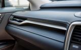 12 Lexus RX 450h L 2021 UK FD interior trim