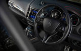 Maserati Levante GranSport V6 2018 first drive - steering wheel