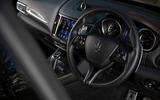 Maserati Levante GranSport V6 2018 first drive - steering wheel
