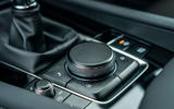 Mazda 3 2019 UK first drive review - centre console