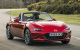 Autocar writers car of 2020 - Mazda MX 5 static