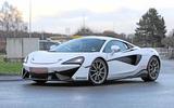 McLaren Sports Series Hybrid prototype front