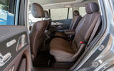 Mercedes-Benz GLS 400D 2019 first drive review - middle row seats