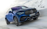 Mercedes-AMG GLE 53 2020 first drive review - on the road front