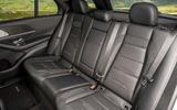 12 Mercedes AMG GLE 63S 2021 UK FD rear seats