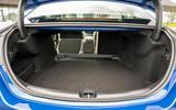 12 Mercedes Benz C Class C300e 2021 review boot
