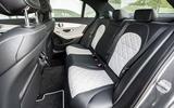 Mercedes-Benz C-Class C200 2018 review rear seats