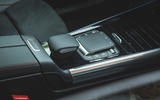 12 Mercedes Benz EQA 2021 UK first drive review centre console