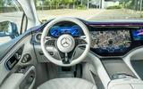 12 Mercedes Benz EQS 2021 UK LHD FD dashboard