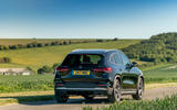 Mercedes-Benz GLA 220d 2020 UK first drive review - on the road rear