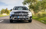Mercedes-Benz GLC 220d 2019 UK first drive review - on the road nose