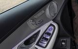 Mercedes-Benz GLC 300d 2019 first drive review - door cards