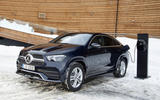 Mercedes-Benz GLE 350de 2020 first drive review - charging