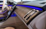 Mercedes-Benz S-Class S500 2020 first drive review - interior trim