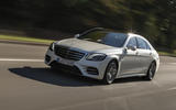 Mercedes-Benz S-Class S560e 2018 first drive review - on the road front