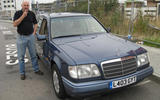 Mercedes-Benz W124 - static front