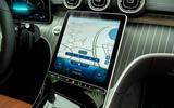 12 Mercedes C Class Estate 2021 UK LHD FD infotainment