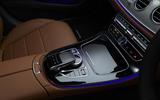 Mercedes-Benz E-Class E300de 2019 UK first drive review - infotainment controls