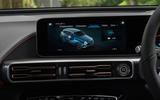 Mercedes-Benz EQC 400 2019 UK first drive review - infotainment