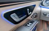 12 Mercedes EQS580 2021 FD seat controls