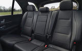 Mercedes-Benz GLE 400d 2019 UK first drive review - middle row seats