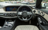 Mercedes-Benz S-Class S500L 2018 long-term review - dashboard